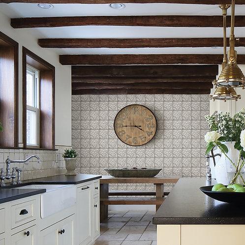 Cornelius White Tin Ceiling Tile 2922-23763