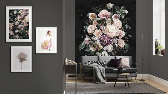 Blooming Florals Wall Mural