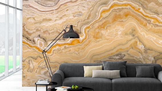 Amber Wall Mural