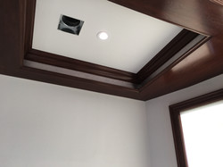 Coffer install, Temple View Estates