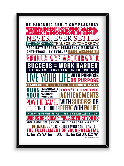 Daily Motivation Poster