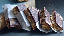 Nutella Buckini Bars