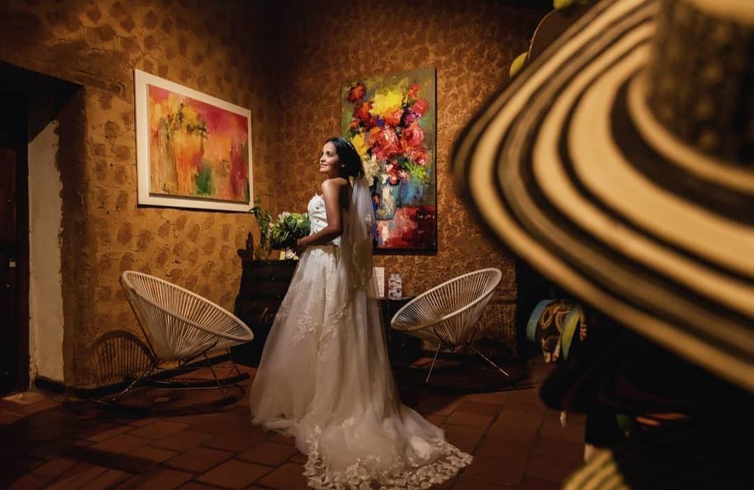Novias en Hotel Valledupar Casa de Los Santos Reyes