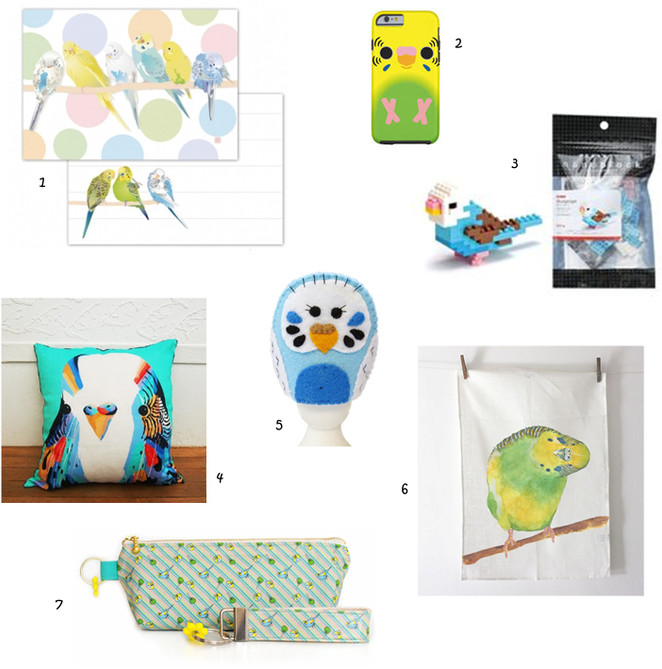 Inst-spiration: Budgies - Miscellaneous