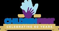 children-first-60th-celebrating-logo-hor