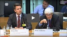Prof. Lüdecke im Deutsche Bundestag