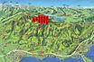 Panoramakarte Stöcklichrüz mit eingezeichneten WKA-Symbolen