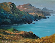 """Original Oil Painting For Sale. Abereiddi, Pembrokeshire, South West Wales, UK. 8"""" x 10"""" Oil on stretched canvas"""