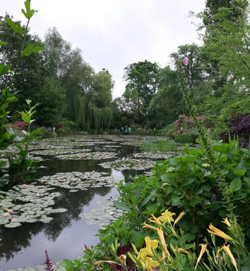 Painting at Giverny, Home of Claude Monet.