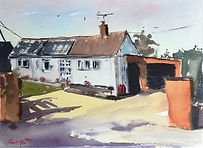"""Original Watercolour Painting Commissions property house bungalow home. 11"""" x 15"""""""
