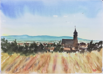 Paintings in Alsace