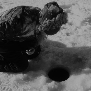 Hardwater Season In Kamloops 2018-2019- Ice Fishing During Early Ice On