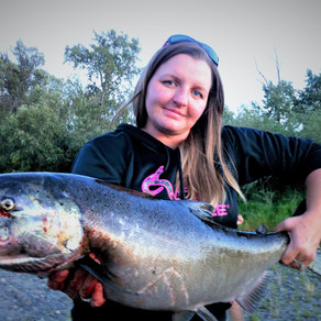 Fishing for Chinook Salmon around Kamloops in August/September