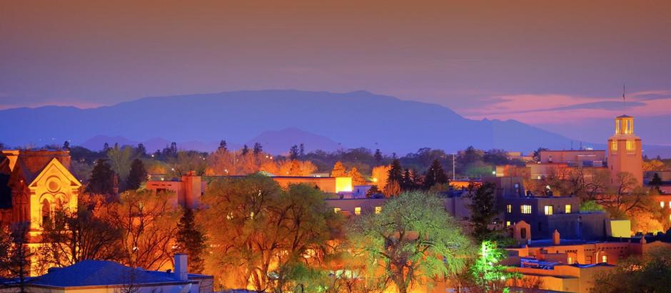 Fall Comes To Santa Fe
