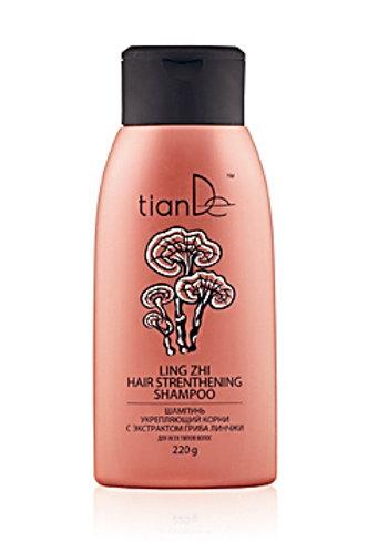 TianDe Szampon wzmacniający cebulki włosów z ekstraktem grzyba Ganoderma 220g