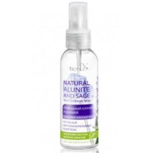 """Dezodorant do ciała w sprayu """"Naturalny ałunit i szałwia""""100ml"""