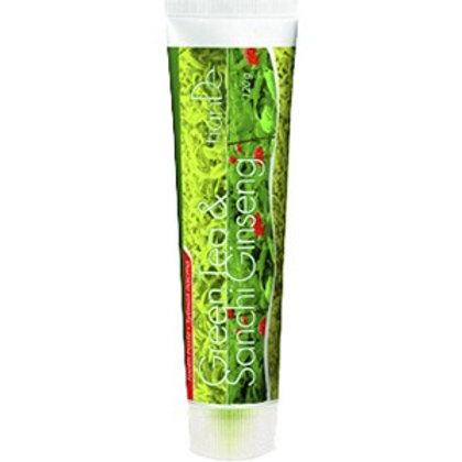 """Pasta do zębów """"Zielona herbata + Żeń-szeń Sanchi"""" 120g"""