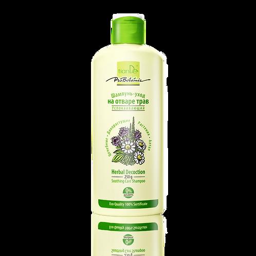 Łagodzący i pielęgnacyjny szampon z wyciągu ziołowego 250g