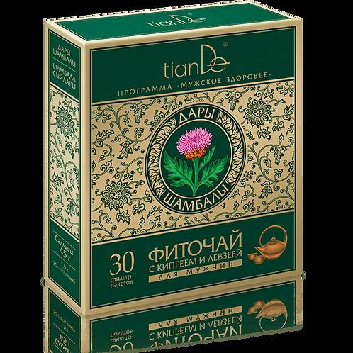 Herbata ziołowa z wierzbownicą i szczodrakiem krokoszowatym dla mężczyzn 30x1,50