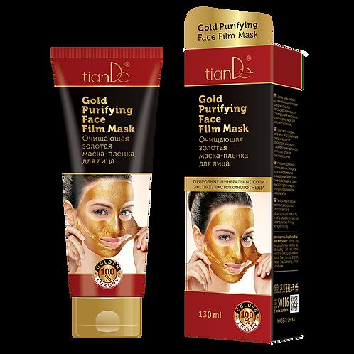 Oczyszczająca złota maska foliowa do twarzy 130 ml