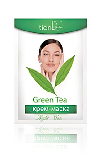 "TianDe Krem-Maska ""Zielona Herbata"" 50ml"