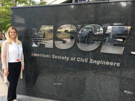 Miami-Dade Branch's President goes to ASCE headquarters!