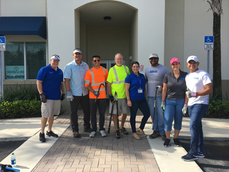 ASCE/ FES and Town of Miami Lakes - Hurricane Irma Clean-up