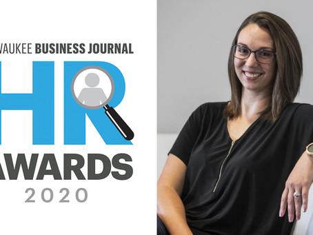 Our very own HR Award Winner