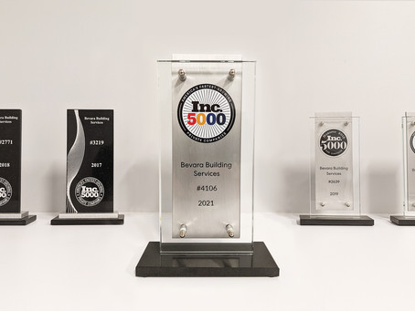 Fastest-Growing Company 5 years in a Row!