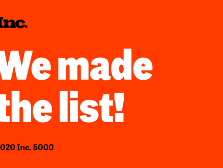 We made the list!