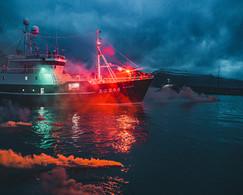 Dark Christmas Sail