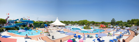 A holiday park in Italy