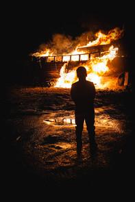 The eve of burning.