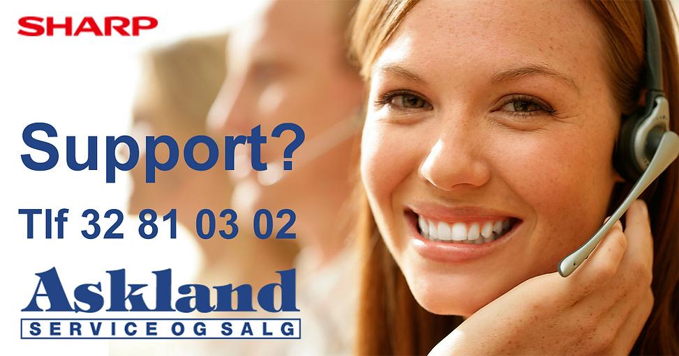 Support telefon 32810302