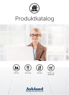 Forside - produktkatalog