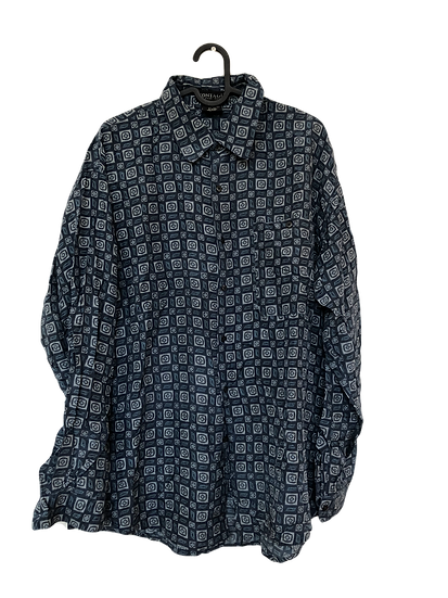 "Bob der Baumeister Seidenhemd ""Montage"" blau/grau"