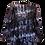 Thumbnail: Partyjacke, schattierende schwarz/lila