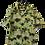 Thumbnail: Gelbes Vintage Hemd mitTropenmotiv