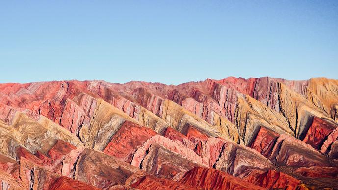 Mirador de Hornocal de 14 Colores, Jujuy, Argentinien