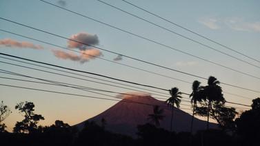 Vulkane am Himmel