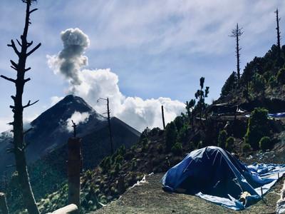 Acatenango Base Camp, Guatemala
