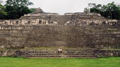 Die Ruinen von Caracol