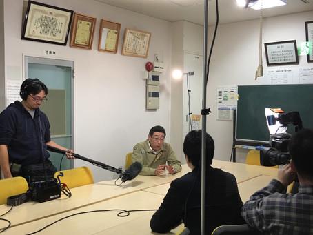 キターっっ  NHKおはよう日本!収録