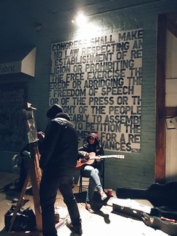 Live Painting #liveart #fabricstudios