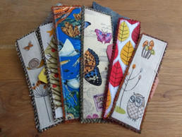 Collection of Harris Tweed Bookmarks