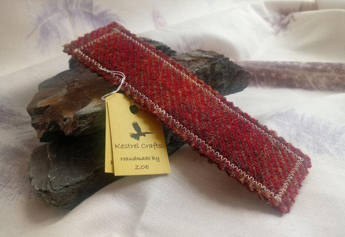 Harris Tweed Bookmark