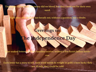 Greetings On The Independence Day