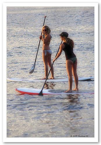 location de stand up paddle (SUP) en bretagne sud avec l'école de surf de Bretagne de Clohars carnoet (plage du kérou au Pouldu)