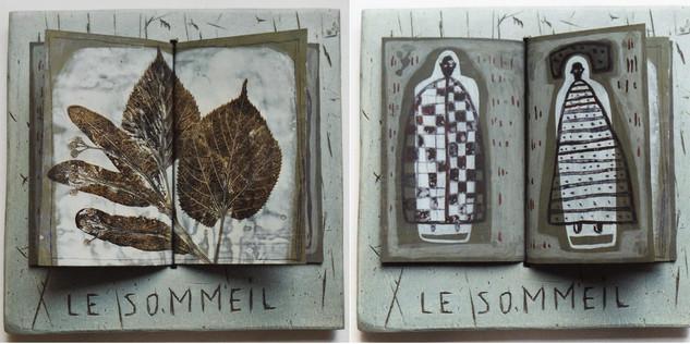 Le Sommeil  ( 32x32 cm).
