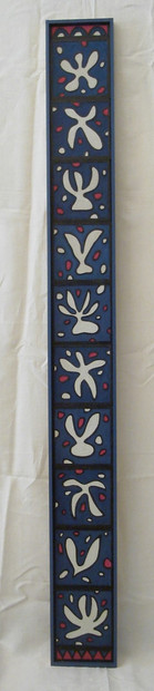 Totem bleu Matisse (20x181 cm)